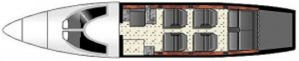 Floor plan of Eclipse 500