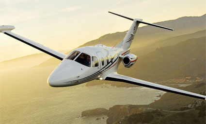 Exterior of Eclipse 500