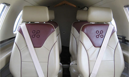 Interior of Eclipse 500