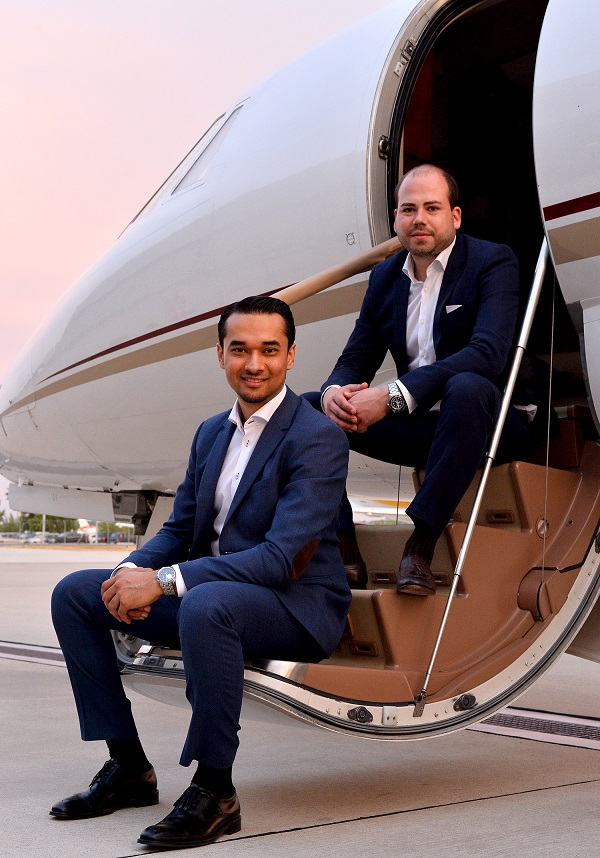 Co-founders of Charterscanner.com - the online private jet booking system